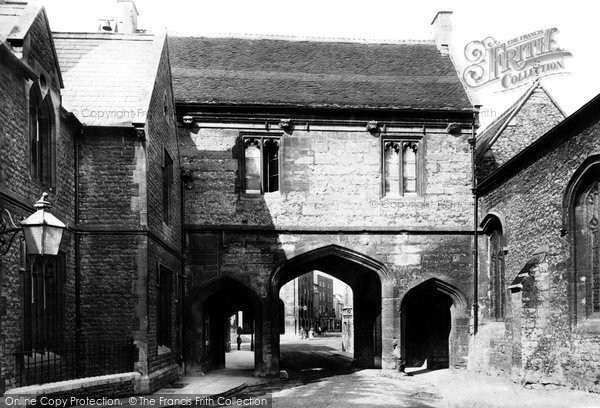 Abingdon, Abbey Gate 1893