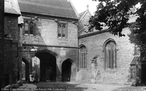 Abingdon, Abbey Gateway 1890