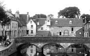Abingdon, Abbey Mill And Bridge 1890