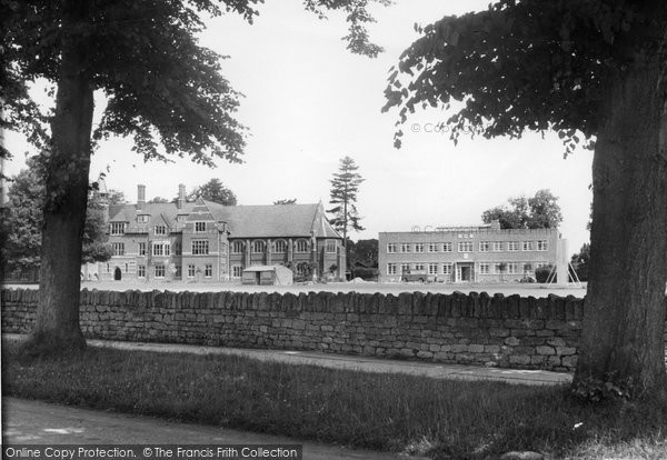 Abingdon, Abingdon School c.1955