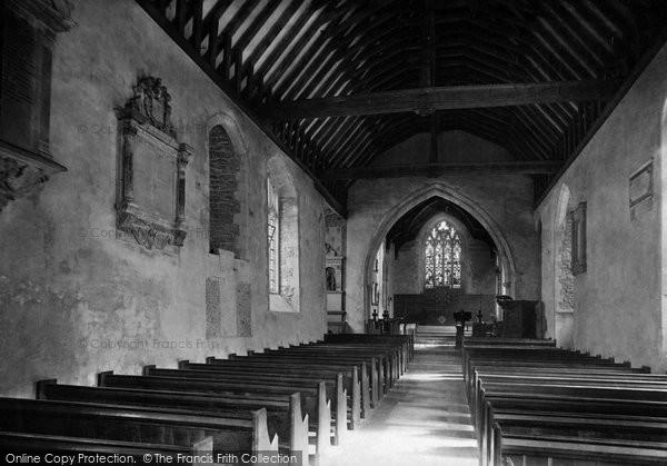 Abingdon, Church Of St Nicholas, Interior 1890