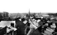 Abingdon, East St Helen Street From Town Hall Roof 1900