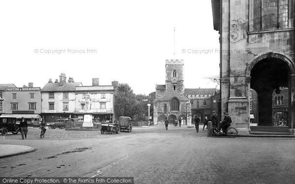 Abingdon, Market Place 1924