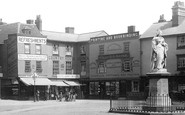 Abingdon, Market Place And Queens Victoria Statue 1893