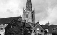Abingdon, St Helen's Church c.1955