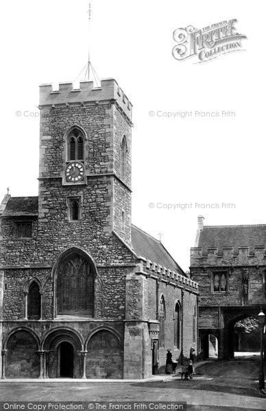 Abingdon, St Nicholas' Church 1890