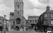 Abingdon, St Nicholas' Church And Abbey Gateway 1925