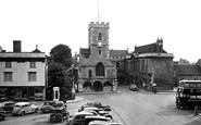 Abingdon, St Nicholas's Church And Guildhall c.1955