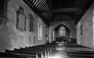Abingdon, St Nicholas's Church Interior 1890