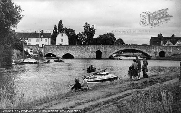 Abingdon, The Bridge c.1950