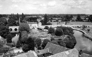 Abingdon, The Bridges From The Church Tower c.1945