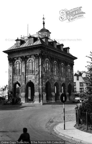 Abingdon, The County Hall c.1955