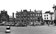 Abingdon, The Queen's Hotel c.1955