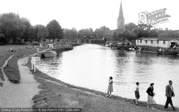 Abingdon, The River Thames c.1960