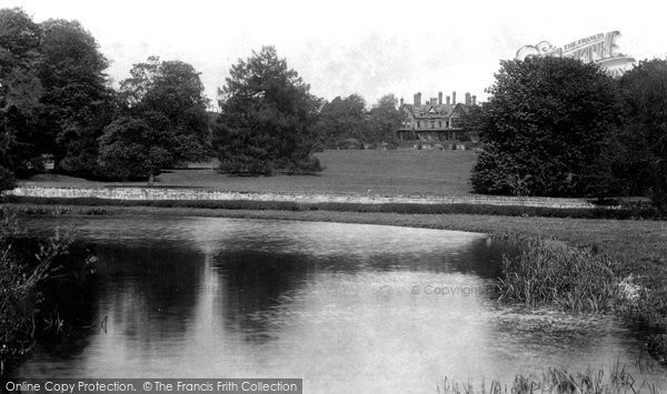 Abinger, Abinger Hall And Lake 1906