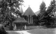 Abinger, Church And Lychgate 1902