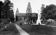 Abinger Common, St James Church 1921