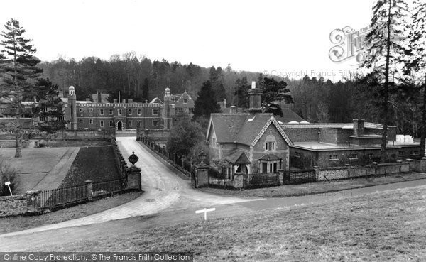 Abinger Common, Wotton House c.1965
