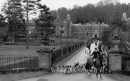 Abinger Common, Wotton House, The Hunt c.1965