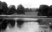 Abinger Hammer, Abinger Hall And Lake 1906