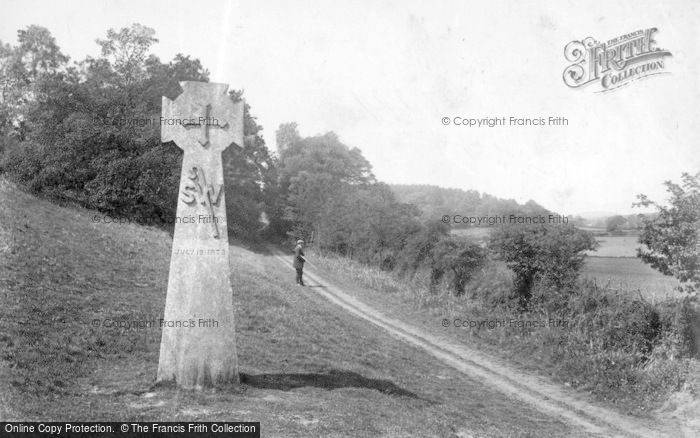 Abinger Hammer, Bishop Wilberforce Cross 1906