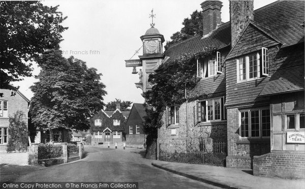 Abinger Hammer, Main Road 1928
