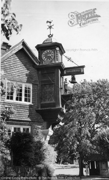 Abinger Hammer, The Clock c.1955
