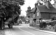 Abinger Hammer, the Village c1955