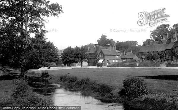 Abinger Hammer, Village Green 1902