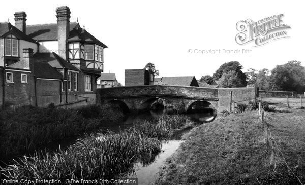 Abridge, The Bridge c.1960