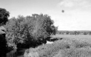 Abridge, The River c.1955