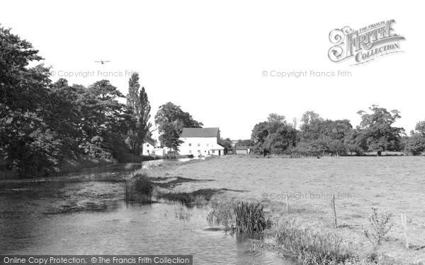 Abridge, The River Roding From Passingford Bridge c.1960
