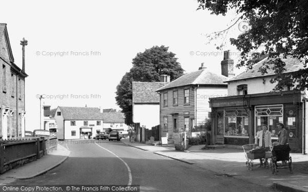 Photo of Abridge, the Village c1960