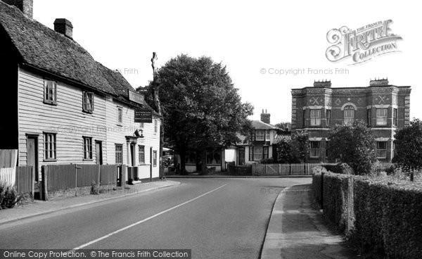 Abridge, The Village c.1960