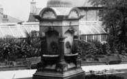 Accrington, Drinking Fountain, Oakhill Park 1897