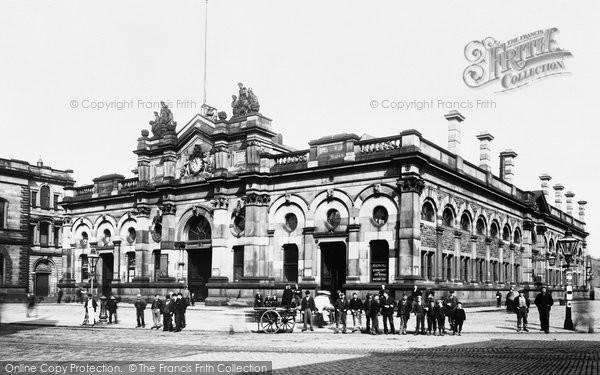 Accrington, Market Hall 1897