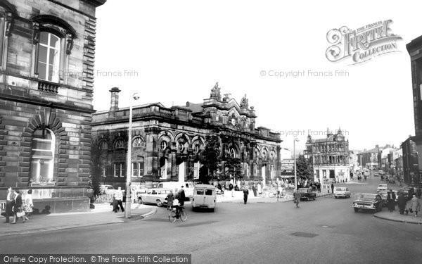 Accrington, Market Hall c.1965