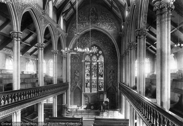 Accrington, New Jerusalem Church Interior 1899