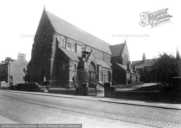 Photo of Accrington, Sacred Heart Catholic Church 1899