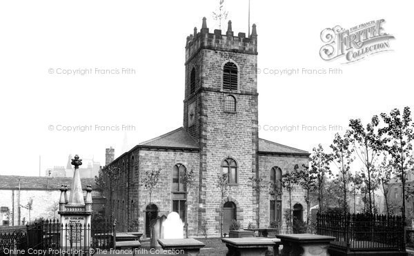 Accrington, St James' Church 1897