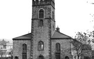 Accrington, St James' Church  c.1945