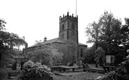 Accrington, St James' Parish Church c.1955