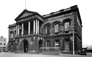 Accrington, The Town Hall c.1955