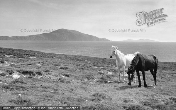 Achill Island, On The Atlantic Drive c.1955