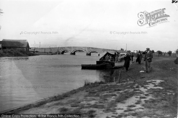 Acle, River Bure And Bridge c.1930