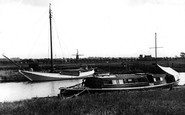 Acle, River Bure And Windmill c.1939