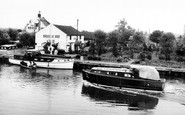 Acle, River Bure c.1955