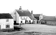 Acle, The Bridge Hotel From The Bridge c.1955