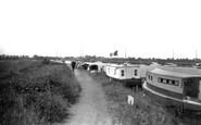 Acle, The River Bure And River Walk c.1929