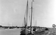 Acle, The River Bure c.1929